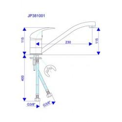 Slavina za sudoper JP381001