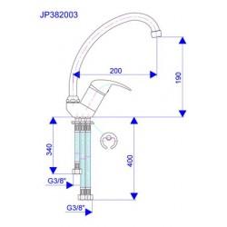 Slavina za sudoper JP382003