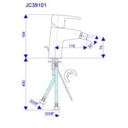 Slavina za bide JC39101