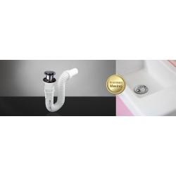 Sifon za lavabo mesingani KLIK-KLAK elastični