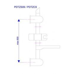 Zidna šipka Univerzal PDTZS09