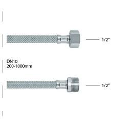 """Brinox 1/2""""-1/2"""" MF 300mm"""