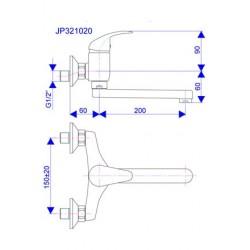 Slavina za sudoper JP321020