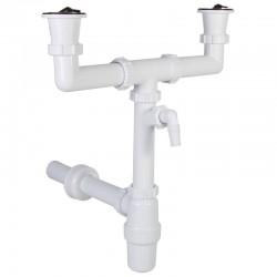 Sifon za sudoperu sa skupljačem masti dvodelni